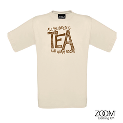 All,you,need,is,tea,T.shirt,Mens,All you need t. shirt, T. Shirt, T-Shirt, Zoom Tees, Zoom T. Shirts