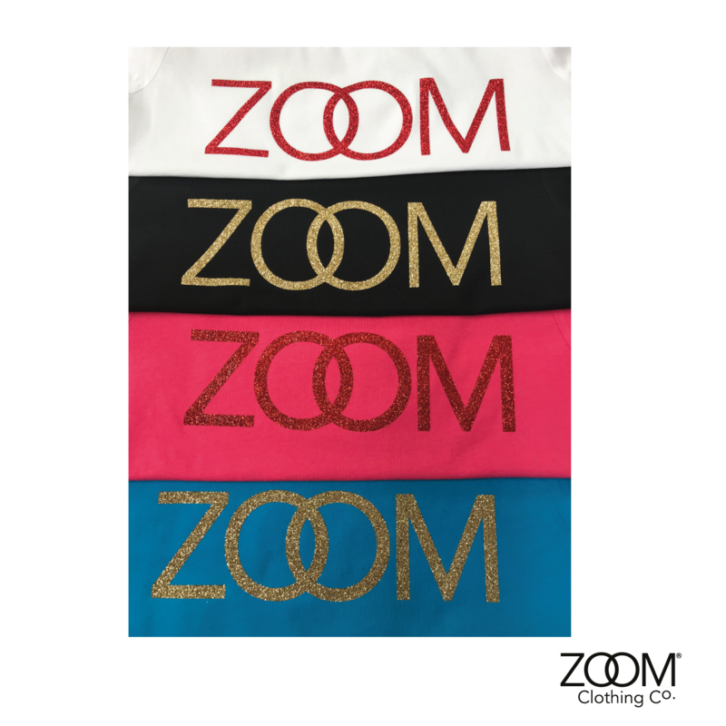 Zoom Gold Glitter T.Shirts - product images  of
