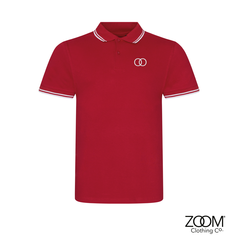 Zoom,Striped,Collar,Polo,(Red),Zoom Polo, Zoom Striped Collar Polo, Polo, Striped Polo