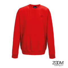 Subtle,OO,Unisex,Sweat,(Fire,Red), Sweatshirt, Zoom Sweat, Zoom Sweatshirt, Unisex Sweat, Unisex Sweatshirt, Subtle Sweat