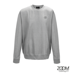 Subtle,OO,Unisex,Sweat,(Heather,Grey), Sweatshirt, Zoom Sweat, Zoom Sweatshirt, Unisex Sweat, Unisex Sweatshirt, Subtle Sweat