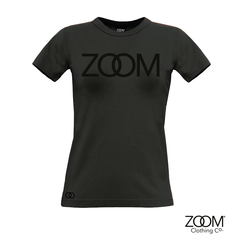 Black,on,Ladies,T.shirt,Black on black, Black on black t.shirt, Zoom t.shirts, Black on black zoom