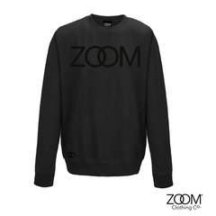 Black,on,Unisex,Sweatshirt,Black on black, Black on black sweatshirt, Zoom sweatshirt, Black on black zoom