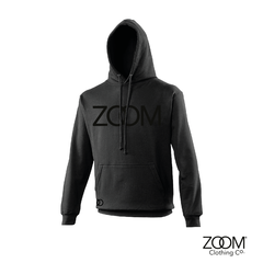 Black,on,Unisex,Hoodie,Black on black, Black on black hoodie, Zoom hoodie, Black on black zoom