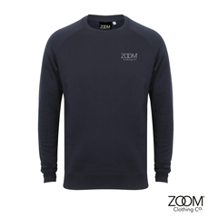 Navy,Sweatshirt,Unisex,Slim fit, Sweatshirt, Zoom Sweatshirt, Lounge wear