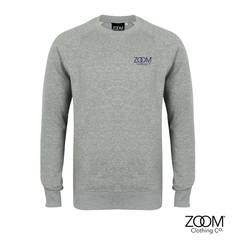 Grey,Sweatshirt,Unisex,Slim fit, Sweatshirt, Zoom Sweatshirt, Lounge wear