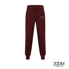 Burgundy,Jog,Bottoms,Mens,Joggers, Zoom Lounge Wear, Zoom Joggers.