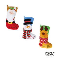 3D,Character,Stockings,Christmas