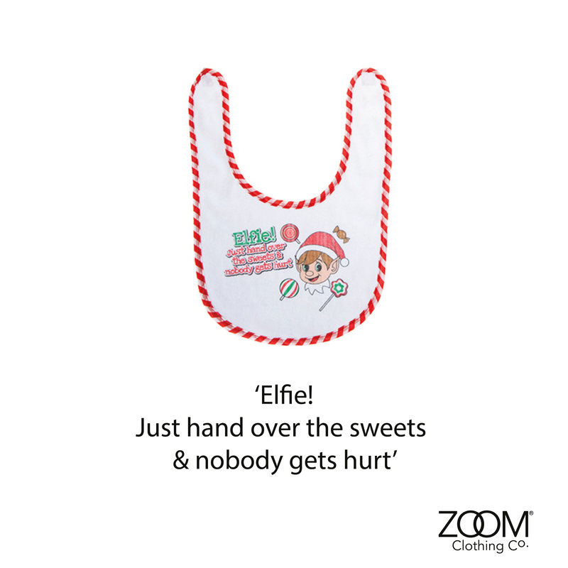 Hand Over The Sweets Baby Bib - product image