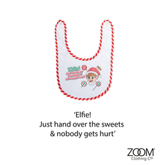 Hand,Over,The,Sweets,Baby,Bib,Christmas