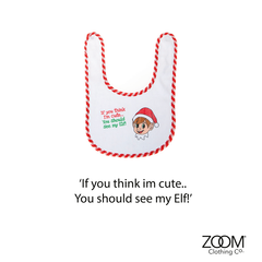 If,you,Think,I'm,Cute,Baby,Bib,Christmas