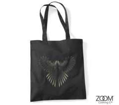 Designer,Bird,Shopper,Bag,Shopper Bag, Designer Shopper, Designer Shopping Bags, Zoom Shopping Bags