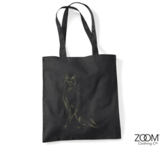 Designer,Cat,Shopper,Bag,Shopper Bag, Designer Shopper, Designer Shopping Bags, Zoom Shopping Bags
