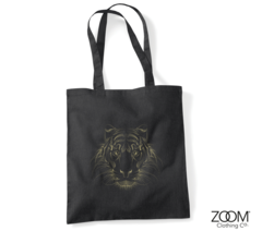 Designer,Tiger,Shopper,Bag,Shopper Bag, Designer Shopper, Designer Shopping Bags, Zoom Shopping Bags