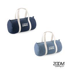Denim,Barrel,Bag,ZoomFITNESS Barrel Bag, Denim Barrel Bag