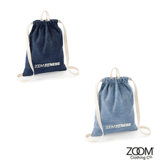 Denim,Gym,Sack,ZoomFITNESS Gym Sack, Denim Gym Sack