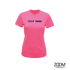 Performance,T.shirt,Zoom Fitness, Fitness, Gym, Zoom Fit