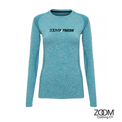 Seamless,Performance,Long,Sleeved,Top,Zoom Fitness, Fitness, Gym, Zoom Fit
