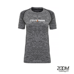 Seamless,Performance,Short,Sleeved,Top,Zoom Fitness, Fitness, Gym, Zoom Fit