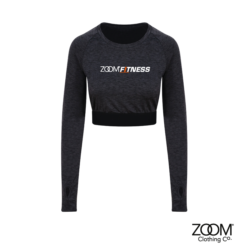 Long Sleeved Crop Top - product image