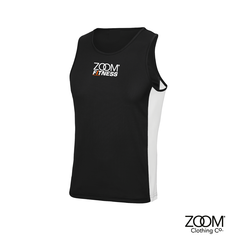 Contrast,Vest,Zoom Fitness, Fitness, Gym, Zoom Fit