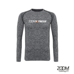 Seamless,Performance,Long,Sleeved,T.shirt,Zoom Fitness, Fitness, Gym, Zoom Fit