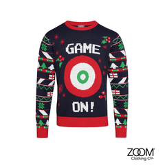 Game,On,Jumper,Zoom Christmas, Christmas, Zoom XMas