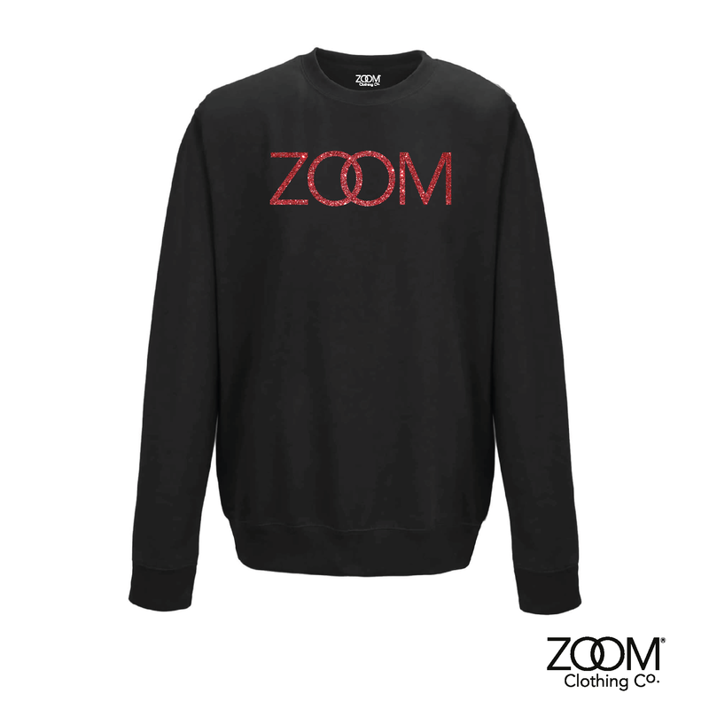 Red Glitter Sweatshirt - product image