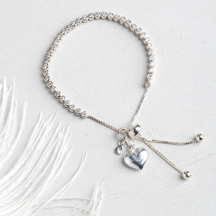 personalised slider bracelet