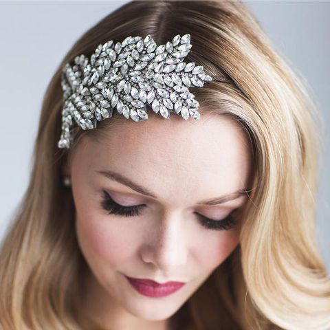 Fern,Crystal,Headdress,Weddings,Accessories,rhinestone_headdress,vintage_headdress,hollywood_headdress,bridal_headband,bridal_accessories,wedding_accessories,bridal_headdress,crystal_headdress,wedding_headpieces,bridal_headpieces,vintage_inspired,rhinestone_accessory,hollywood_