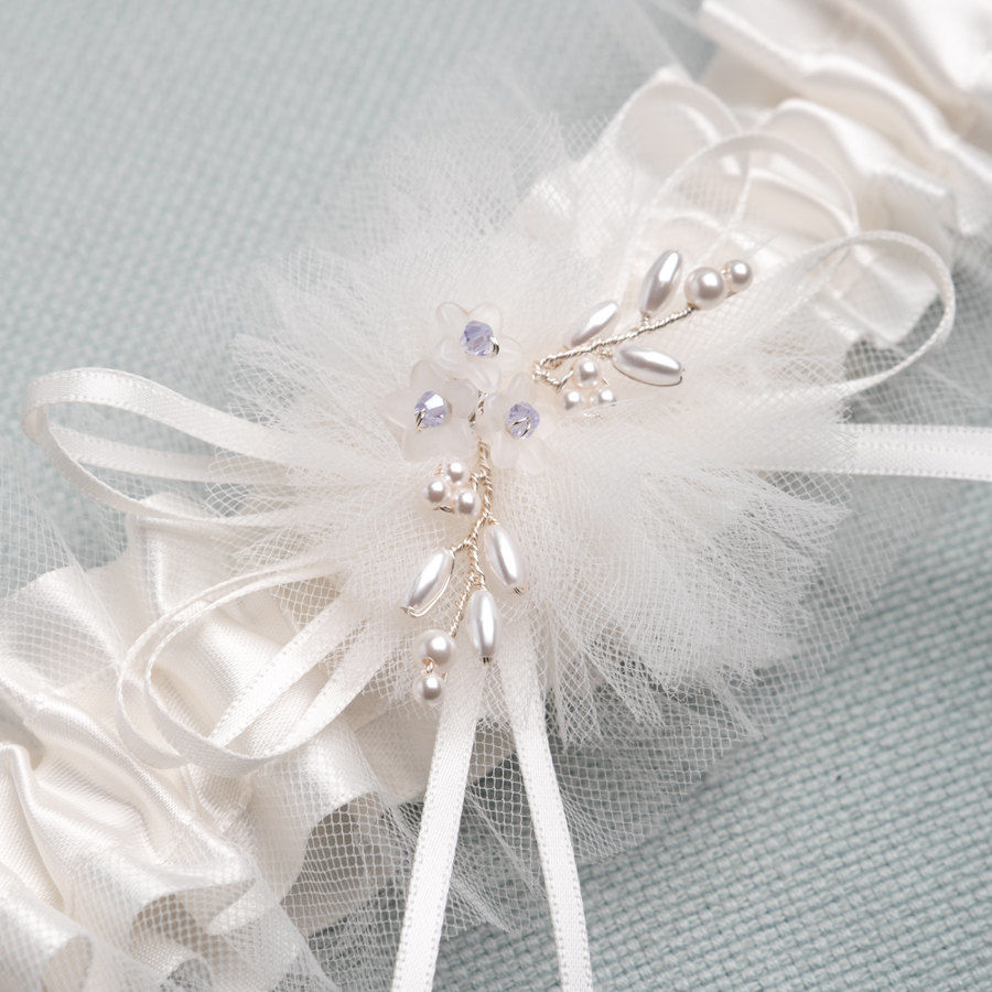 Bridal Garter - Something Blue - product images  of