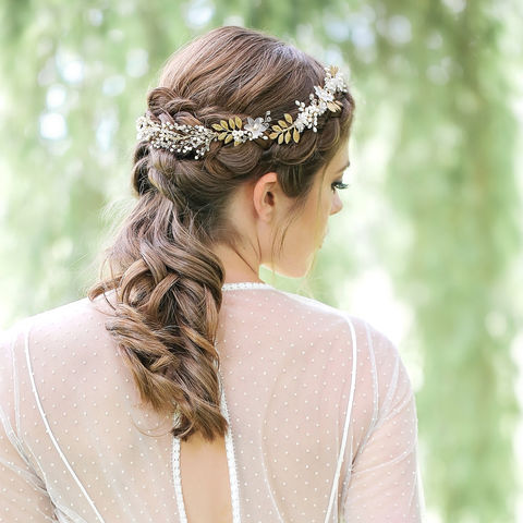 Charlotte,Gold,Hair,Vine,Weddings,Accessories,gold_boho,boho_headdress,gold_bridal,leaf_halo,chic_hairvines,wedding_boho,bridal_hair_vine,bridal_halos,floral_hair_vines,gold_hair_vine,bridal_accessories,gold_hair-vine,hair_vine