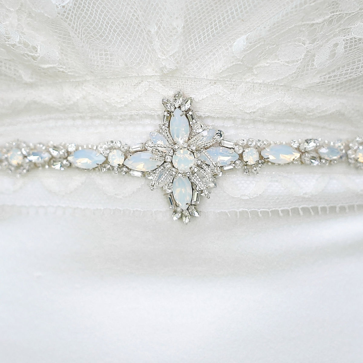 Celest Opal & Crystal Belt - product images  of