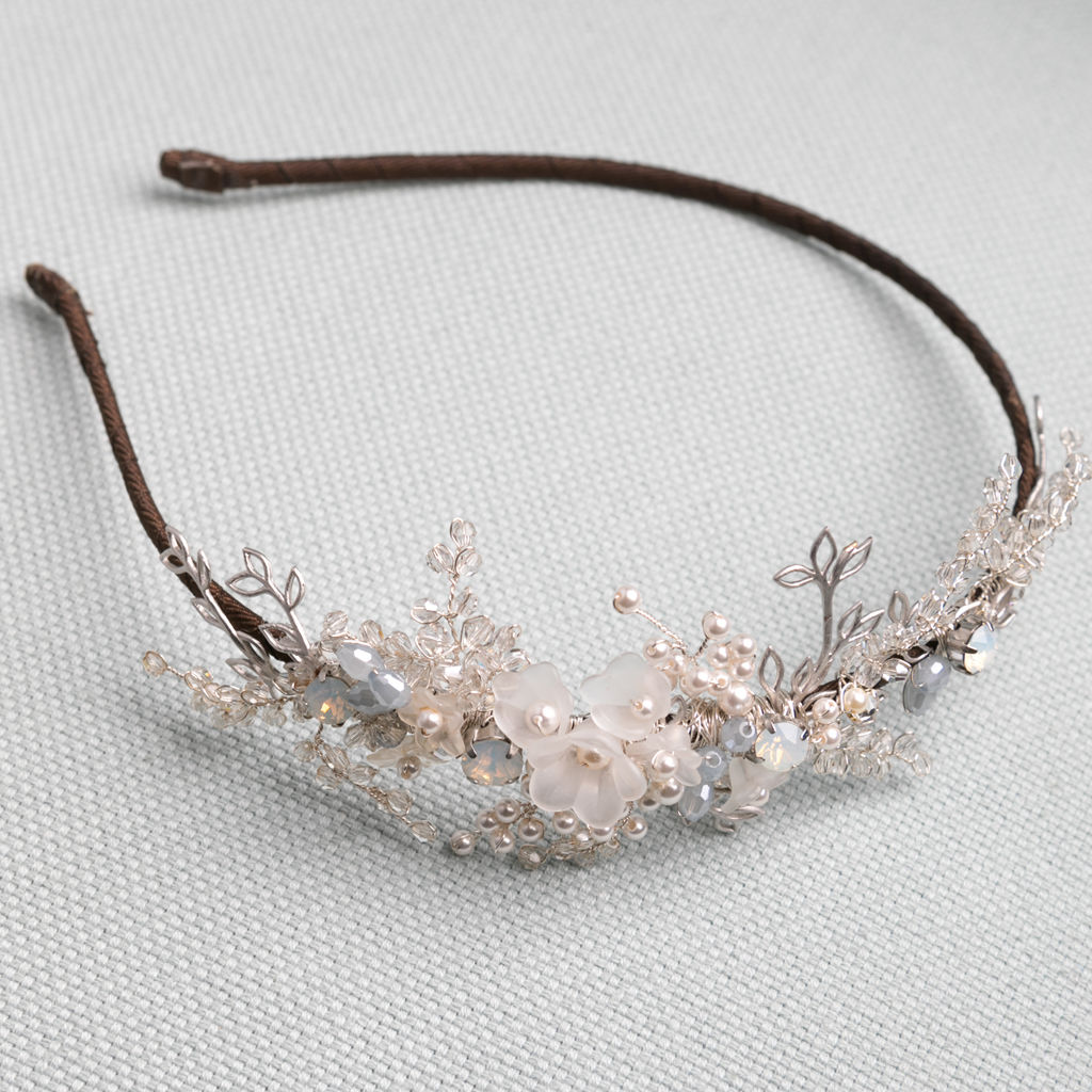 Paradis Pearl & Crystal Headdress - product images  of