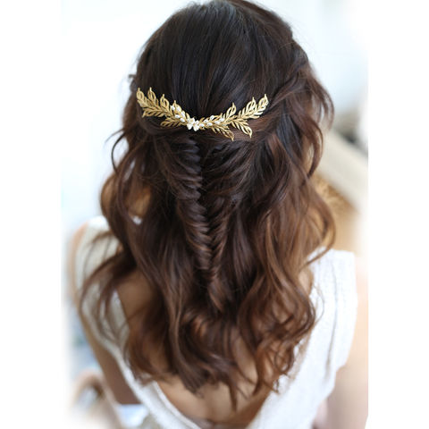 Irina,Gold,Hair,Vine,Weddings,Accessories,bridal_headdress,bridal_headband,bridal_hair_vine,bridesmaid_hair_vine,wedding_hair_vine,grecian_hairvine,wedding_accessories,bride_gift,bridal_accessories,hair_vine,gold_hair_vine,gold_headdress,gold_hair_vines