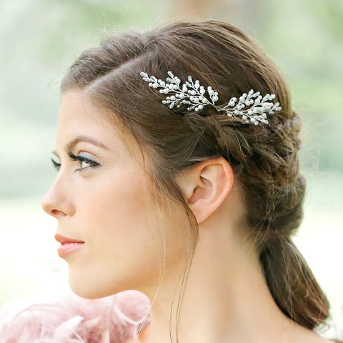 Indian,Summer,Hairpin,bridal hair vine, hair vine, crystal hair vine, wedding hair vine, gold hair vine, lois hair vine