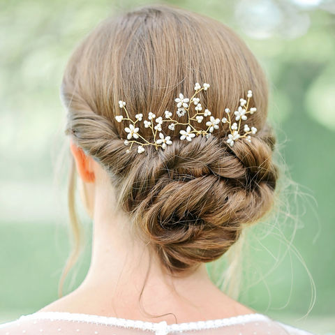 Wild,Blossom,wild blossom in the hair, wild flowers, wild flowers bridal, bridal hair vine, hair vine, crystal hair vine, wedding hair vine, gold hair vine, lois hair vine