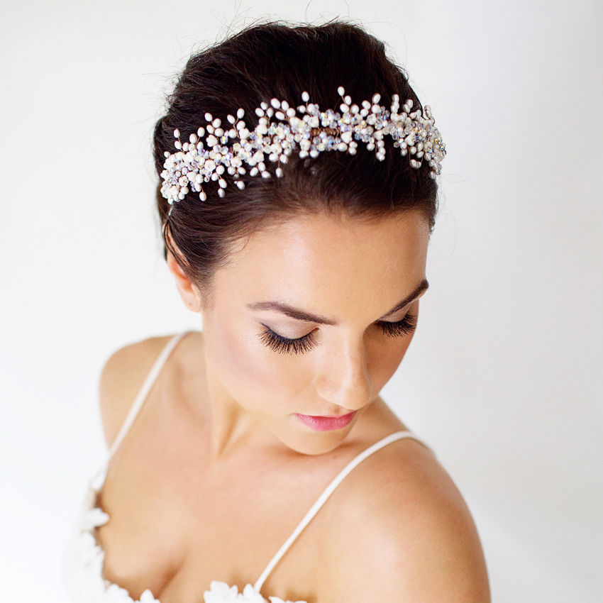 Genevieve Pearl Headdress - product images  of