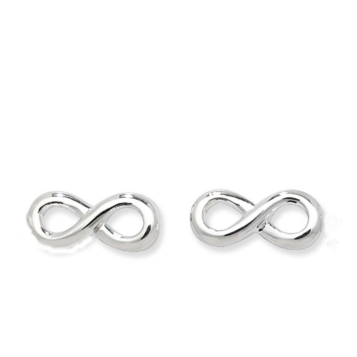 Sterling Silver Infinity Earrings - product images  of