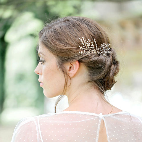 Asteria,Hair,Pin,bridal hair vine, hair vine, crystal hair vine, wedding hair vine, gold hair vine, lois hair vine