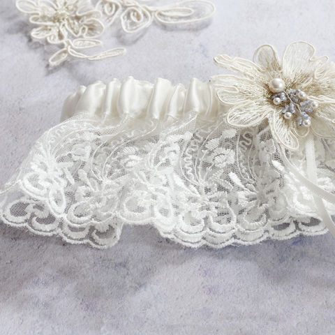 Luxury,Limited,Edition,Garter,-,Bluebell,Weddings,Clothing,wedding_garter,lace_garter,personalised_garter,ivory_garter,sexy_garter,ivory_lace_garter,bridal_garters,garters,brides_gift,wedding_accessories,wedding_lingerie,bridal_gift,wedding_gift,lace garter,satin ribboned garter