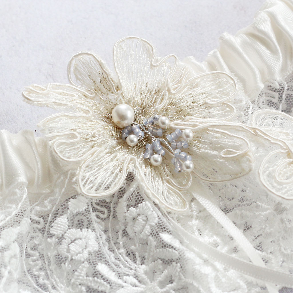 Luxury Limited Edition Garter - Bluebell - product images  of