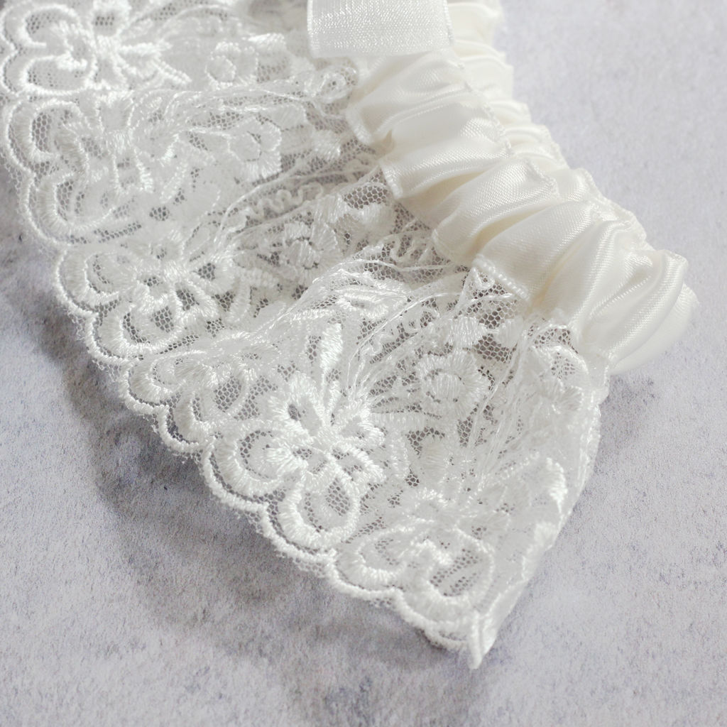 Luxury Limited Edition Garter - Crystal Blue - product images  of