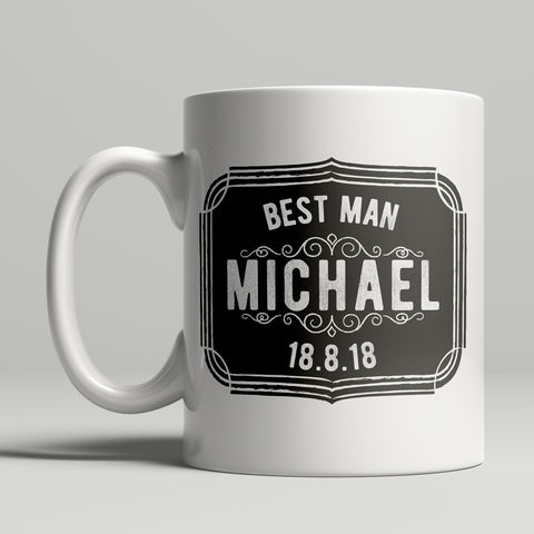 Personalised,Best,Man,Mug,will you be my best man mug, personalised mugs, best man, wedding mugs, personalised gifts, wedding gift mugs
