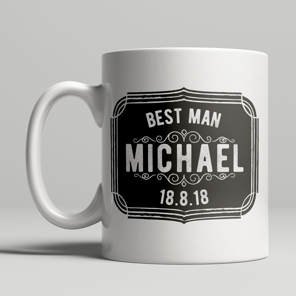 Personalised Best Man Mug - product images  of