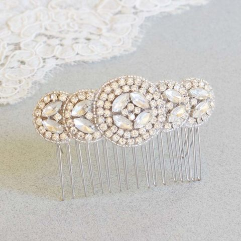 Diana,Crystal,Comb,Bridal crystal comb, crystal headdress, Diana crystal comb, bridal accessories, donna crain, wedding accessories, bridal hair accessories