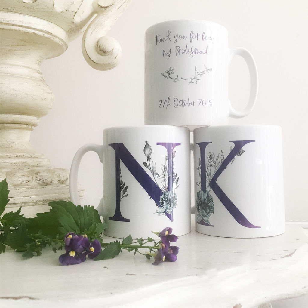 Personalised Will You Be My Bridesmaid Mug - product images  of