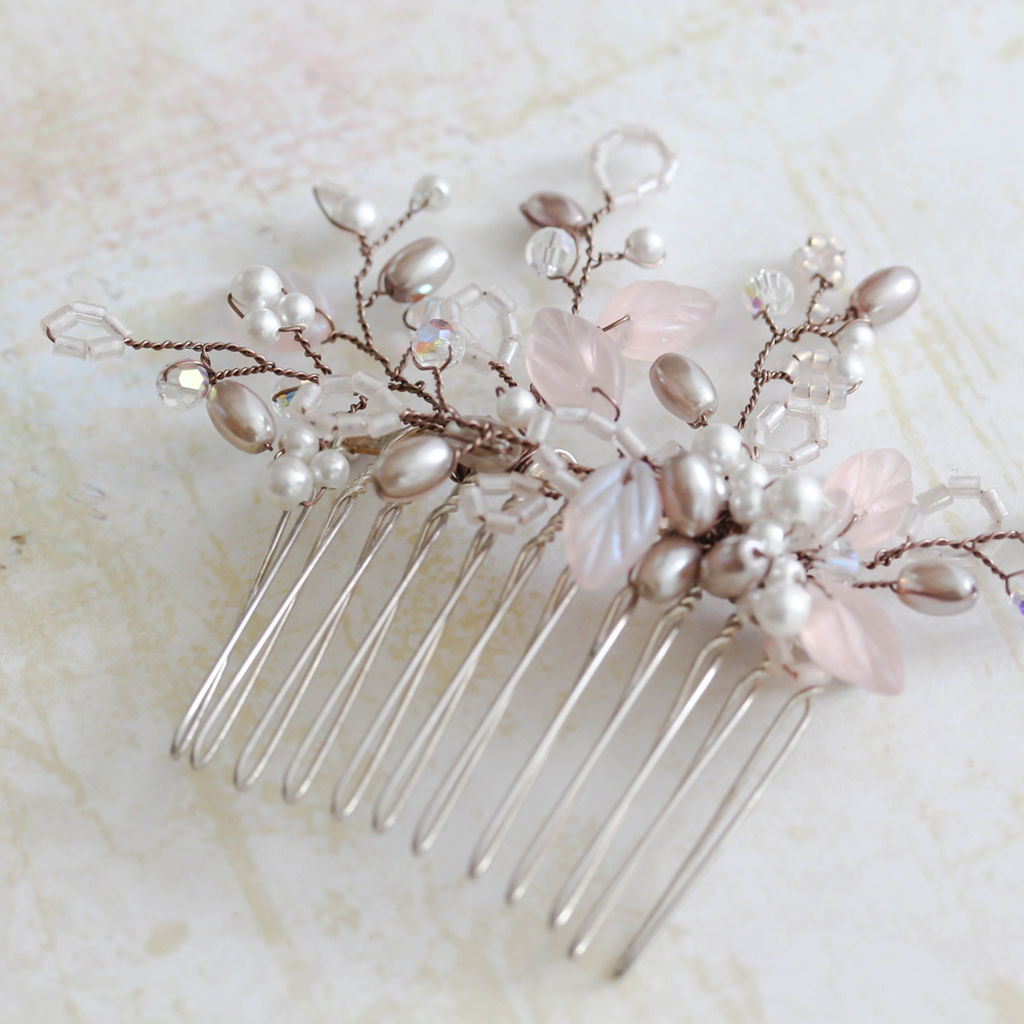 Addison Blush Pink Comb - product images  of