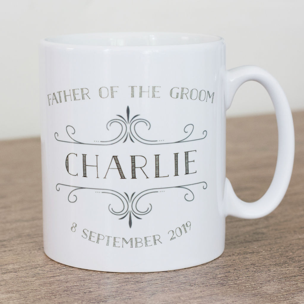Father of the Groom personalised mug - product images  of