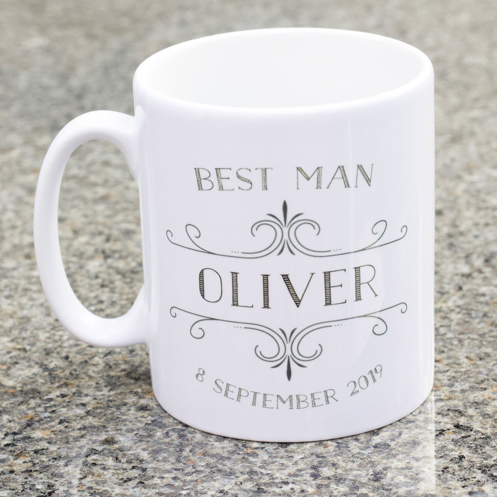 Best Man personalised mug - product images  of